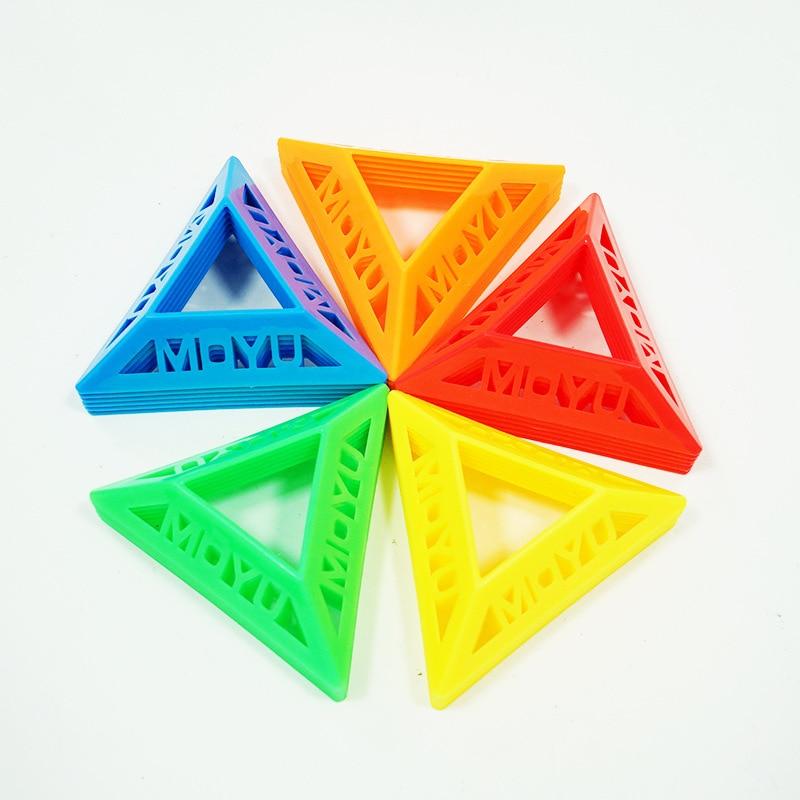 5pcs MOYU Cube Stand Bracket High Quality Speed Magic Speed Cube Plastic Cube Base Holder Cubo Toys 2x2 3x3 4x4 5x5 6x6 7x7