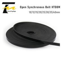 Elevator Door Engine Belt Special Synchronization Belt 8M HTD Rubber Open Belt PU Belt 10MM 12MM 15MM 20MM 25MM 30MM 35MM 40MM