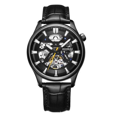 Relógio de Pulso de Couro Inoxidável à Prova Relógios Masculinos Marca Superior Luxry Esporte Tourbillon Couro Quartzo Dstainless Água Moda Vestido Reloj Hombre
