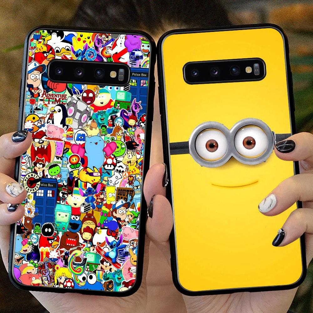 Fashion Phone Case For Samsung Galaxy S10 S20 Plus Note 8 9 10 Plus Smile Phone Case For Galaxy S7 S8 S9 S10 S20 Plus S7 Edge