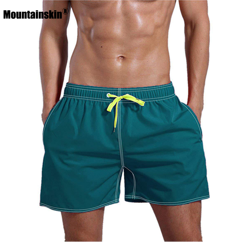 Mountainskin Men's Shorts New Style 2020 Summer Cotton Casual Beach Shorts Quick-Drying Breathable Sports Short Pants Male SA910