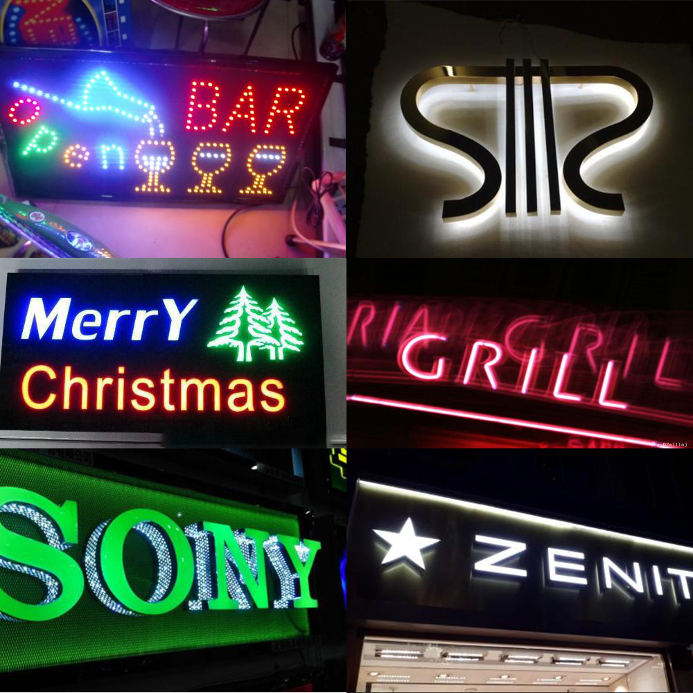 parede, luz noturna em neon, retroiluminação para