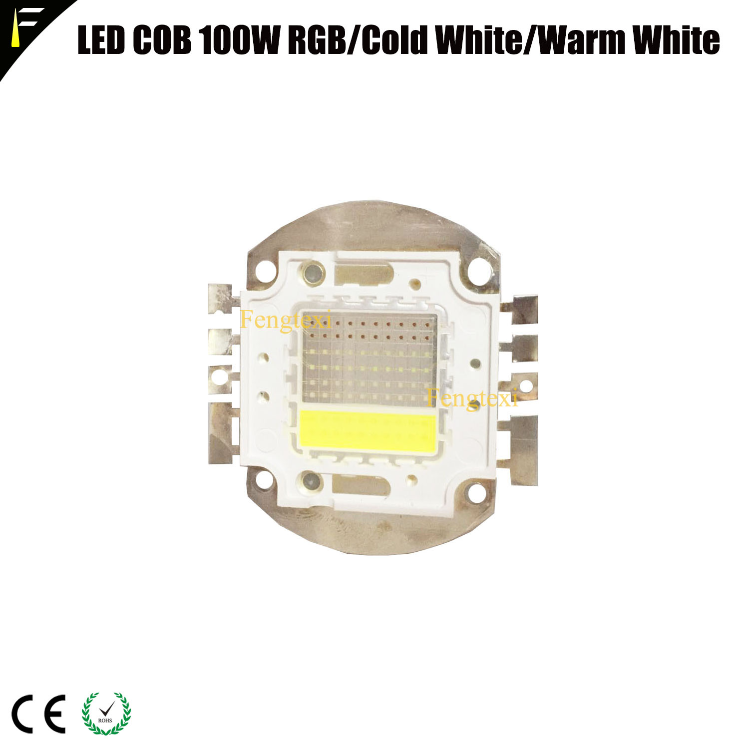 100W COB RGBW Red Green Blue White Light Welding <font><b>LED</b></font> Stage COB <font><b>Par</b></font> Can Blinder Light <font><b>Par</b></font> 3200k6500k Warm White Welding <font><b>LED</b></font> Bead image