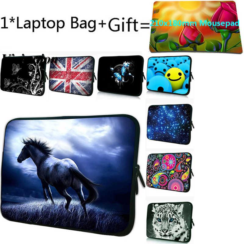 Funda Portatil 13.3/13 بوصة حقائب الكمبيوتر المحمول ل CHUWI Lapbook SE 13.3 Fasion رجل دفتر حافظة 17 15 14 12 10 7 حقيبة تابلت + Mousepad