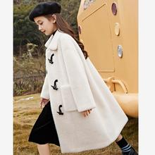 Real Fur Coats 2020 Winter New Mink fleece Outerwear Sheep Shearing Thicker Warm Jackets for girls Claw button Overcoats Y3429