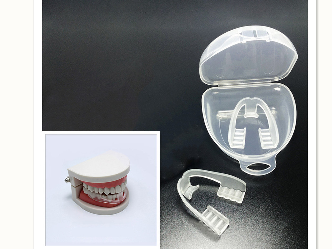 1PC Night Sleep Mouth Guard Universal Anti-snoring Mouthpiece Stop Snore Teeth Grinding Bruxism Body Care Sleep Tool Health Care
