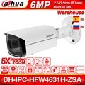 Dahua IPC-HFW4631H-ZSA 6MP ip-камера Обновление от IPC-HFW4431R-Z Встроенный Микрофон Micro SD слот для карт 5X зум PoE камера