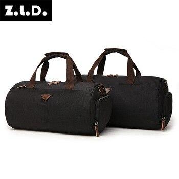 Waterproof Splashing Water Material Travel Bag Hand Bag Luggage Bag Leisure Big Trumpet Dual Use Bag