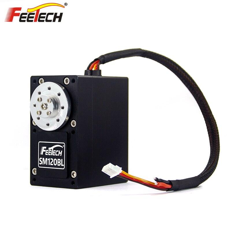 New Feetech Large Torque HV 12V 24V 100/120 KG.CM RS485 Ultra Heavy Duty Giant Scale Digital HV Brushless Smart CNC Robot Servo