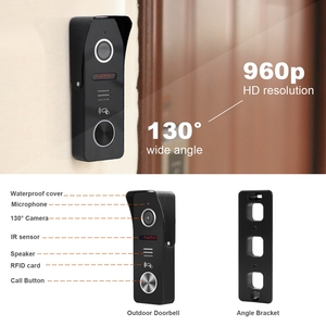Image 4 - HomeFong Smart WiFi Video Doorbell 7 Inch Wireless Door Intercom With Motion Sensor And  Real Time Control Access Control System