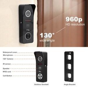 Image 3 - HomeFong Wifi Video Citofono Senza Fili Citofono con Serratura 2 Macchina Fotografica APP di Sblocco a Distanza in Tempo Reale di Controllo di Accesso Sistema di Controllo