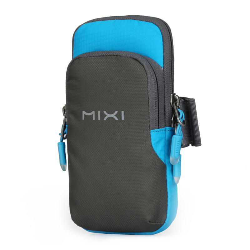 Mixi Arm Bag Women Armband Men Sport Jogging Gym Mobile Phone Holder Bag Waterproof Nylon M2076