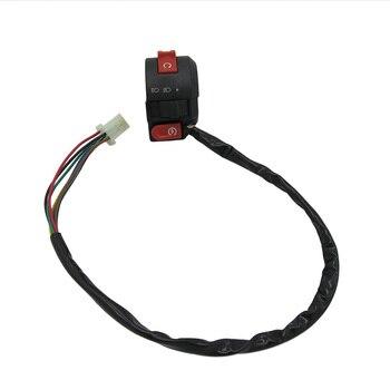 Montaje de interruptor izquierdo de 3 funciones con palanca de choque para Taotao SunL Coolster de 50 Cc, 70Cc, 90 Cc, 110cc, 125 Cc, ATV, 4 ruedas