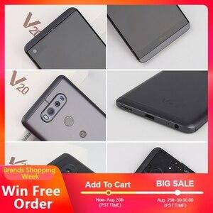 Image 3 - الأصلي مقفلة LG V20 ، الهواتف المحمولة 4GB 64GB أنف العجل 820 المزدوج سيم 5.7 بوصة 2560*1440 المزدوج 16MP 4G LTE الروبوت الهاتف المحمول