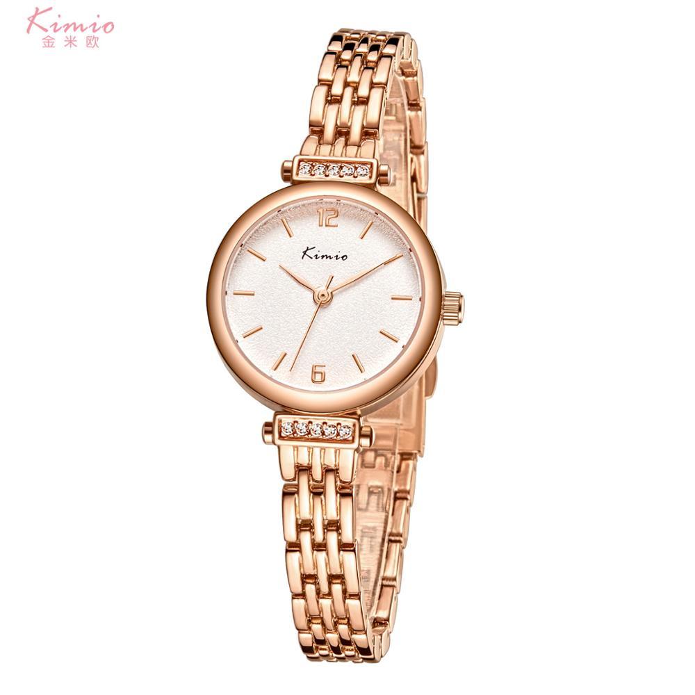 Kimio женские наручные часы 2020 новый роскошный бренд Contena женские кварцевые часы полностью из нержавеющей стали женские часы наручные часы