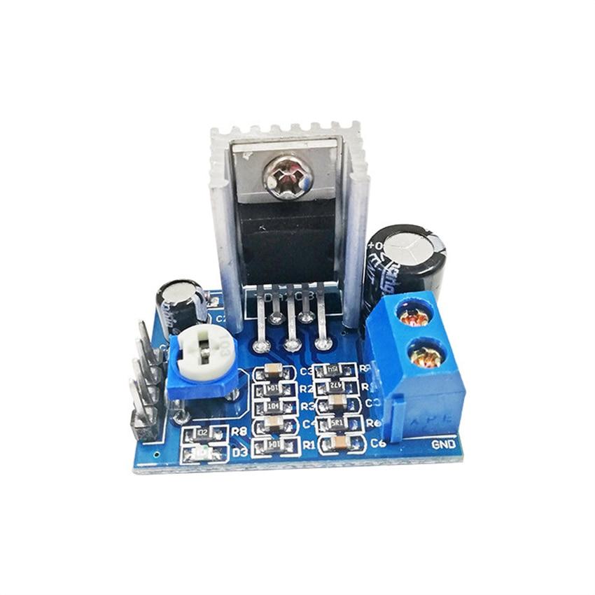 TDA2030A Digital Amplifier Board Single Channel 18W 6-12V Bluetooth Wireless Audio Amplifier Board Mini Speaker Amplifier Module