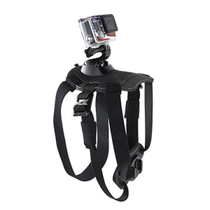 Image 4 - Fetch Dog Mount Harness Chest Strap Mount for Gopro Hero 87 6 5 4 session 3 OSMO SJCAM Xiaomi Yi 4K GO H9 PRO Camera Accessories