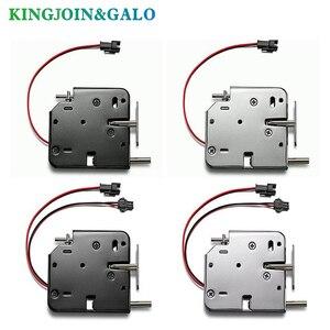 Image 3 - OEM electromagnetic lock DC 12V1.5A supermarket intelligent locker electronic lock access control electric lock mailbox lock