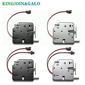 Image 3 - Oem電磁ロックdc 12V1.5Aスーパーマーケットインテリジェントロッカー電子ロックアクセス制御電気錠メールボックスロック