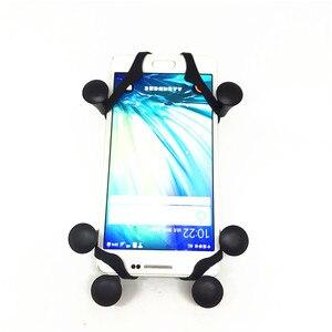 Image 2 - Jadkinsta 오토바이 Webgrip 전화 마운트 Gopro 및 스마트 폰을위한 1 인치 볼 마운트 전화 홀더