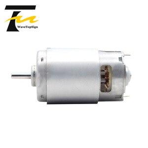 Image 2 - 997 강력한 DC 모터 입력 전압 DC12 36V 고속 모터 자동 볼 베어링 모터