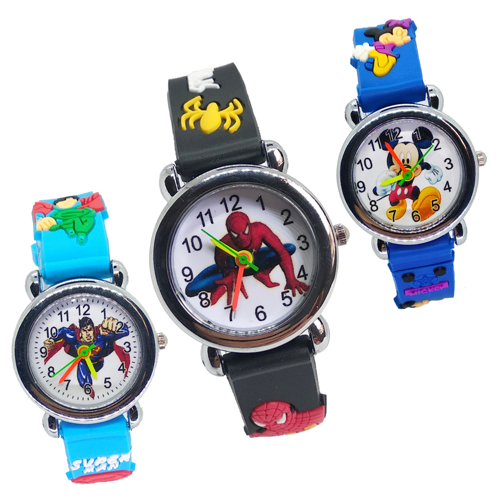 New Ultimate Hero Men Watch Children Waterproof Kids Watches For Child Girls Boys Gift Students Sports Clock Montre Pour Enfants