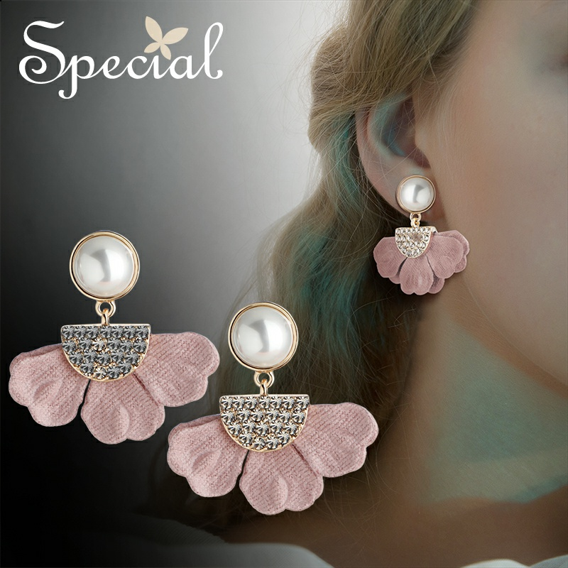 Special Europe and the United States multi-color earrings, earrings are a garden.
