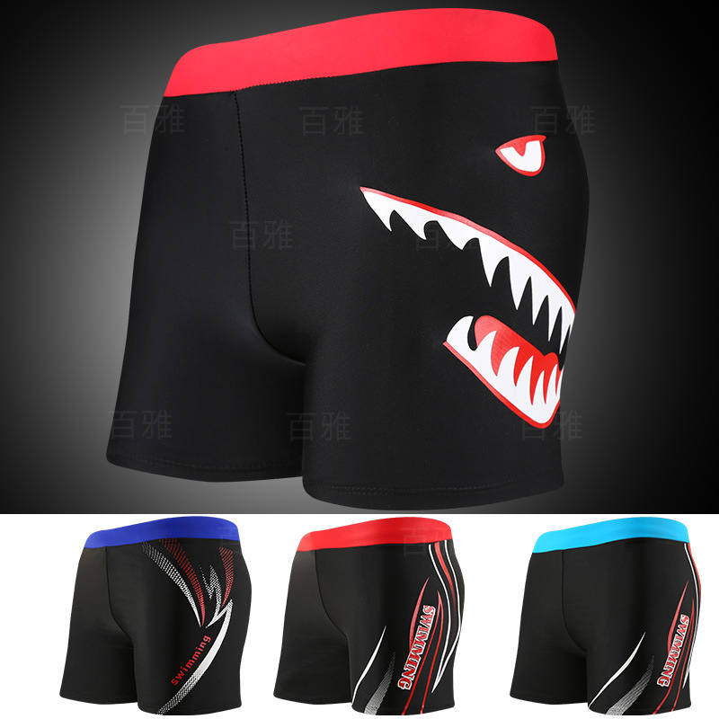 Adult Men Bubble Hot Spring Plus-sized Diving Swimming Trunks Comfortable Swimming Shorts Yk731505