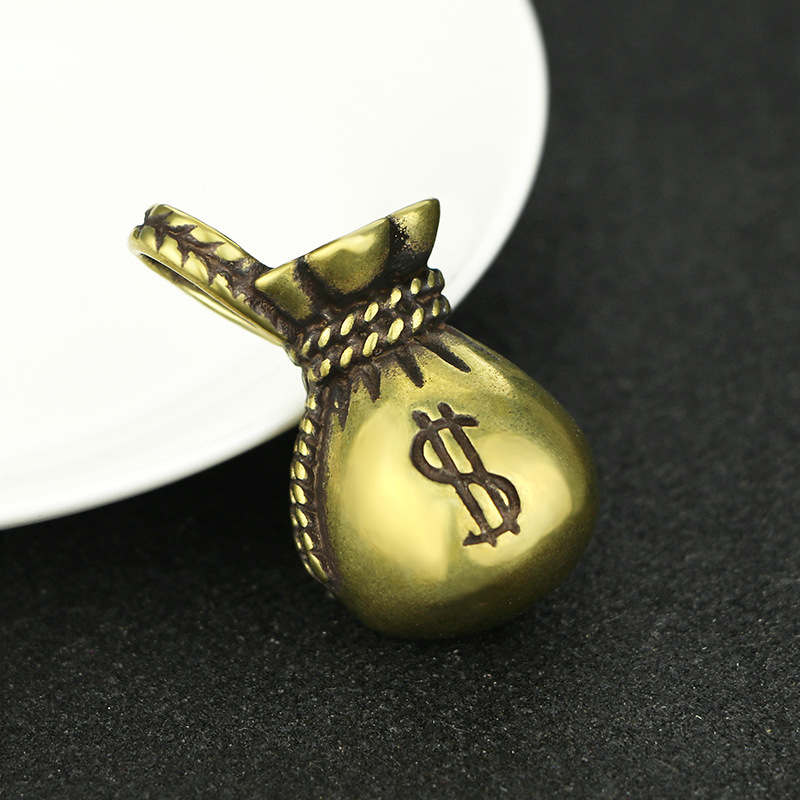 Lucky Money Bag Keychains Pendants (1)