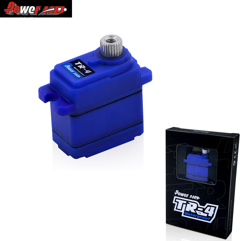 POWER HD TR-4 Waterproof Servo 2.6kg/0.10s With 35cm Wire To Compatible With Traxxas TRX4-Wiring For RC Car Model
