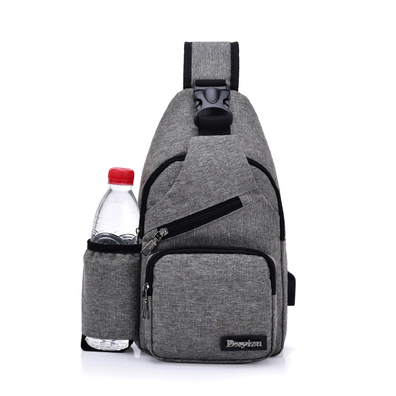 Men 39 s Chest Bag Brief Style Outdoor Cycling Fashion Crossbody Bag in Waist Packs from Luggage amp Bags