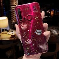 Custodia epossidica Star per Xiaomi Redmi Note 8 Pro custodie Silicon Glitter Funda per Xiaomi Mi Note 10 9 Lite SE 8T 6A 7 5 Plus 10X Cover