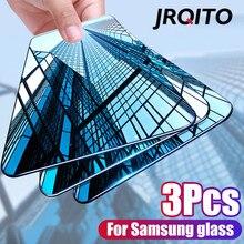 Nouveau verre trempé incurvé sur le pour Samsung Galaxy A50 A40 A30 A20 A10 protecteur décran pour Samsung M10 M20 M30 A20E A60 A70