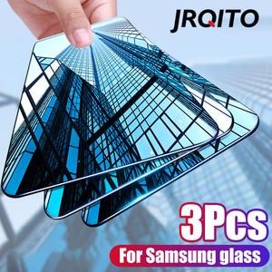 Image 1 - 삼성 전자 갤럭시 a50 a40 a30 a20 a10 화면 보호기에 대한 새로운 곡선 강화 유리 삼성 m10 m20 m30 a20e a60 a70