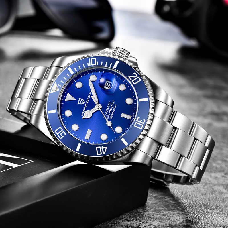 パガーニデザイン 2020 新メンズ腕時計トップブランドの高級腕時計機械式時計自動時計男性レロジオ masculino