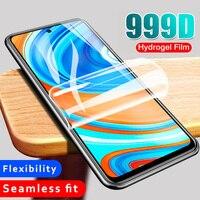 Película de hidrogel completa para Huawei Y8P Y6 Pro Y7 2019 Y9S Protector de pantalla Mate 20 Lite 30 P30 Pro P20 P40 Lite Nova 5T 7i película suave