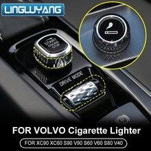 for Volvo xc60 s90 s60 xc90 v60 v40 s80 car cigarette lighter car modified cigarette lighter car accessories 2010-2018 2019
