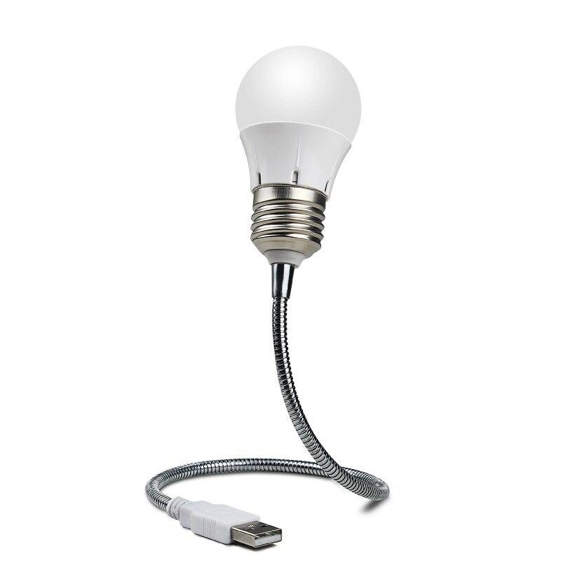 Портативный USB светодиодный мини светильник чтения светильник Настольный светильник гибкий эндоскоп 6 светодиодов USB лампа для Мощность банк ноутбук ПК компьютер