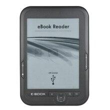 6 Inch 16Gb Ebook Reader E Ink Capacitieve E Boek Licht Eink Scherm E Book E ink E Reader MP3 Met Case, wma Pdf Html