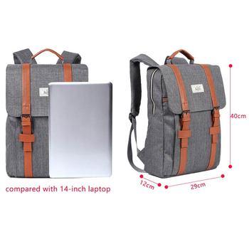 2020 Vintage Men Women Canvas Backpacks School Bags for Teenagers Boys Girls Large Capacity Laptop Backpack Fashion Men Backpack 2