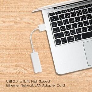 Image 5 - USB 2.0 do RJ45 Adapter sieci Lan Ethernet karta sieciowa RD9700 wysoka prędkość dla Mac OS Tablet z androidem PC Laptop Windows XP 7 8