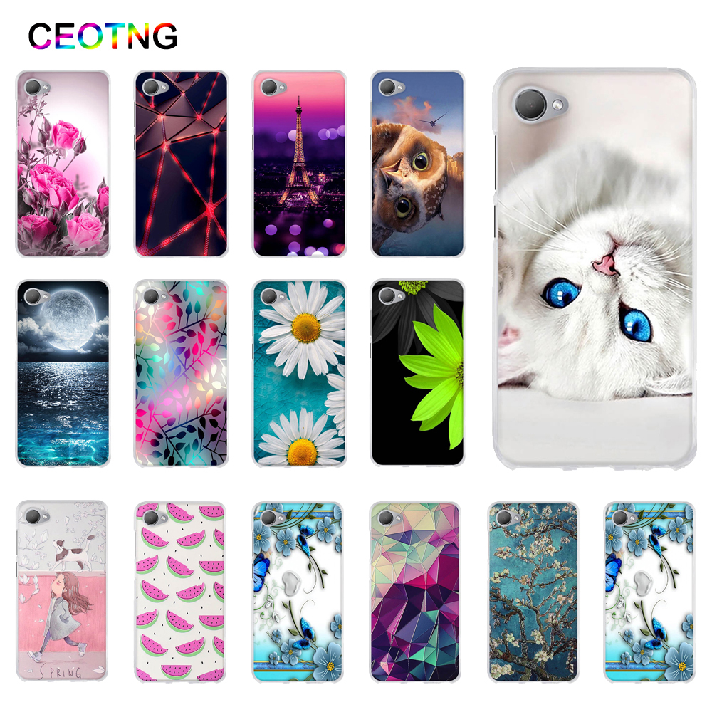 Silicone Case for HTC Desire 12 Case 5.5 inch Soft TPU Back Cover for HTC Desire 12 Cover Shells Print Painted Fundas Phone Bags image