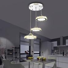 Simple crystal led chandelier Bright energy saving led lamps modern living room crystal chandeliers lightsing led lustre lamps cheap ULMXI Wedge None 110V 120V 130V 220V 230V 240V 260V 110-240V 90-260V Shadeless Flush Mount 2 years LED Bulbs