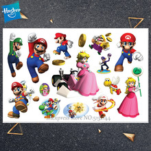Hasbro Kinderen Cartoon Super Mary Tijdelijke Tattoo Sticker Novelty Cosplay Speelgoed voor Prinses SWhite Party Grappige Sticker()