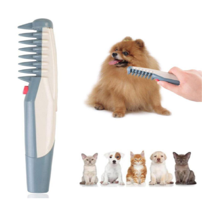 JOYLIVE Pet Cat Dog Electric Grooming Comb - Remove Knots And Tangles