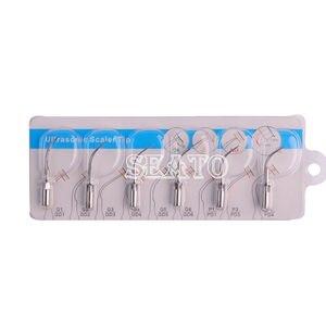 Image 4 - Scaler ultrasónico Dental puntas G1 G6 Compatible EMS pájaro carpintero pieza de mano Blanqueamiento Dental equipo Dental
