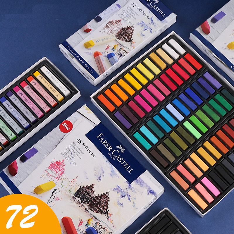 12/24/36/48/72 Colors Painting Crayons Soft Pastel Set Art Drawing Chalk  Stationery For Students