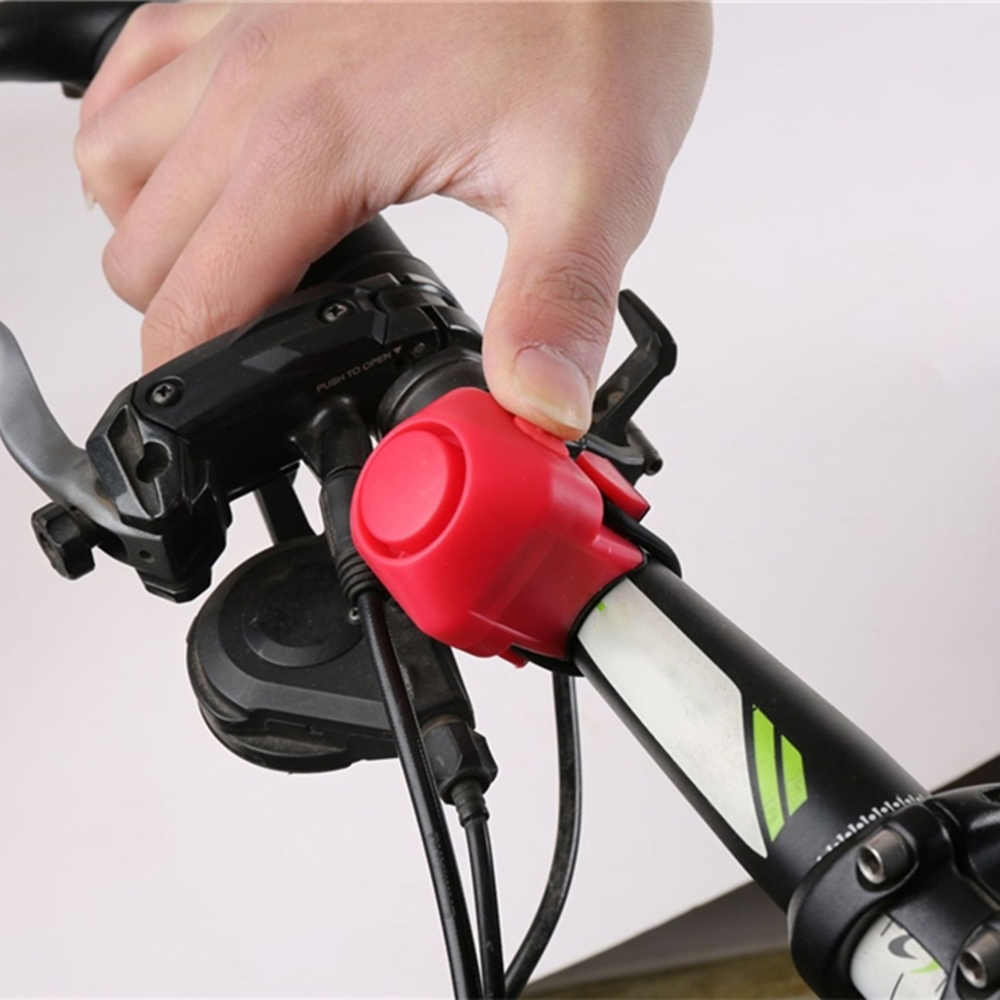 Bicycle Electric Bell Waterproof Loud Horn Handlebar Ring Strong Loud Alarm Safe