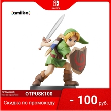 Интерактивная фигурка Nintendo | amiibo Юный Линк (коллекция Super Smash Bros.)