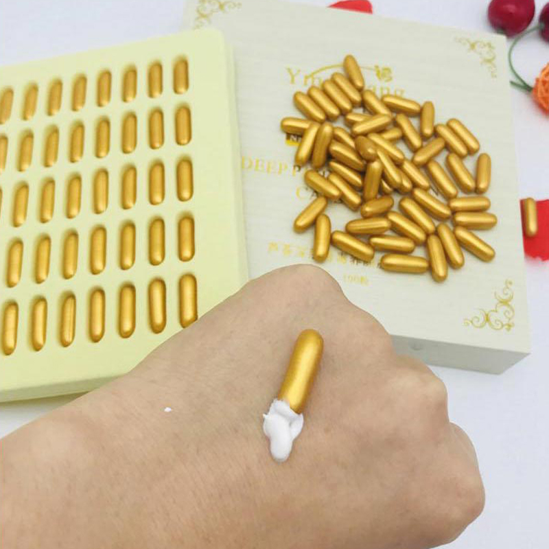 100Pcs Gesichts Entgiftung Kapsel Detox Für Ultraschall Schönheit Maschine Gesicht Melanin, Blei Entfernung Haut Bleaching Feuchtigkeit Salon